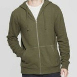C9 By Champion Olive Green Zip up Hoodie